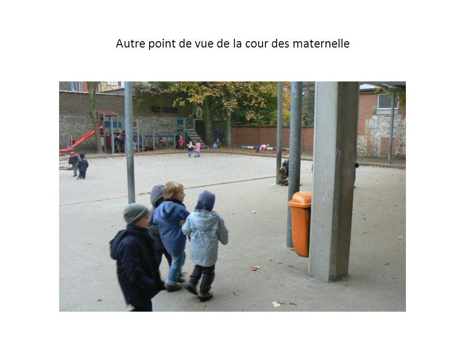 Autre point de vue de la cour des maternelle