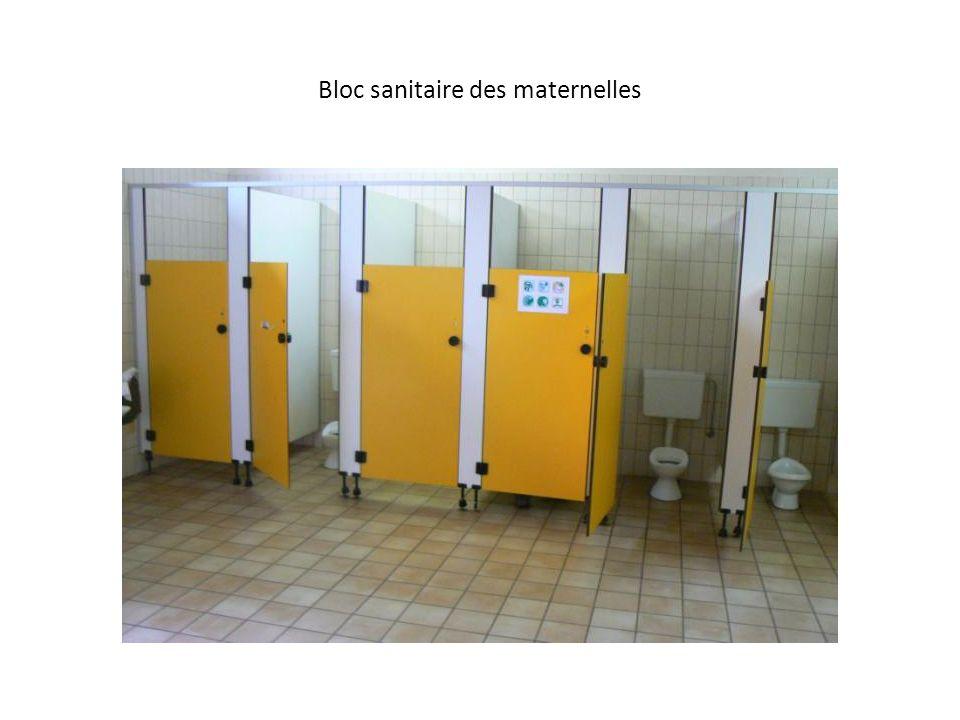 Bloc sanitaire des maternelles