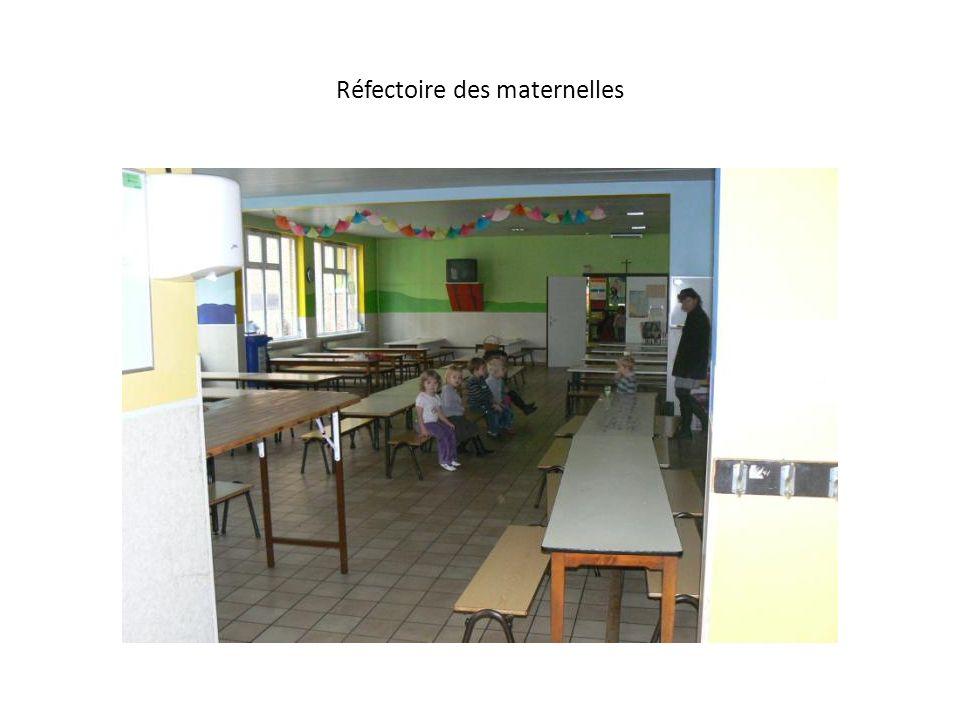 Réfectoire des maternelles