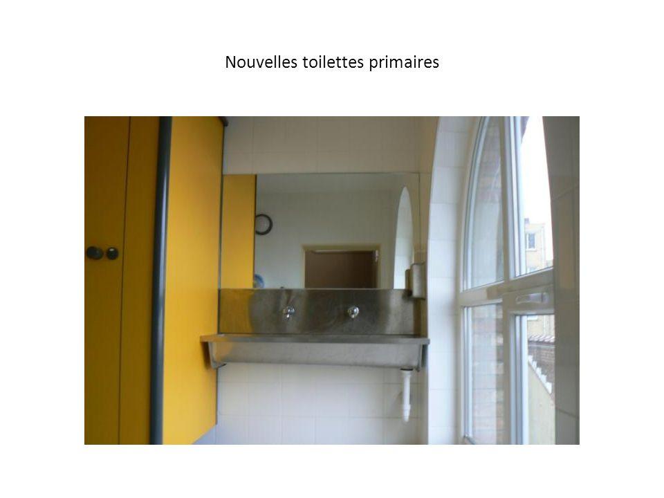 Nouvelles toilettes primaires