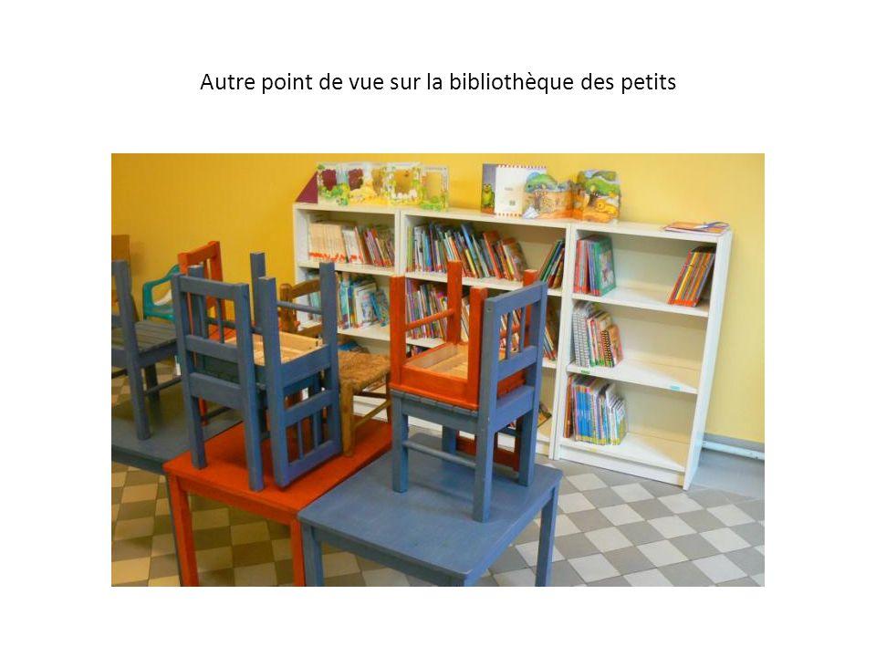 Autre point de vue sur la bibliothèque des petits