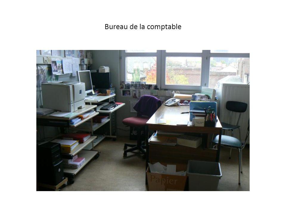 Bureau de la comptable