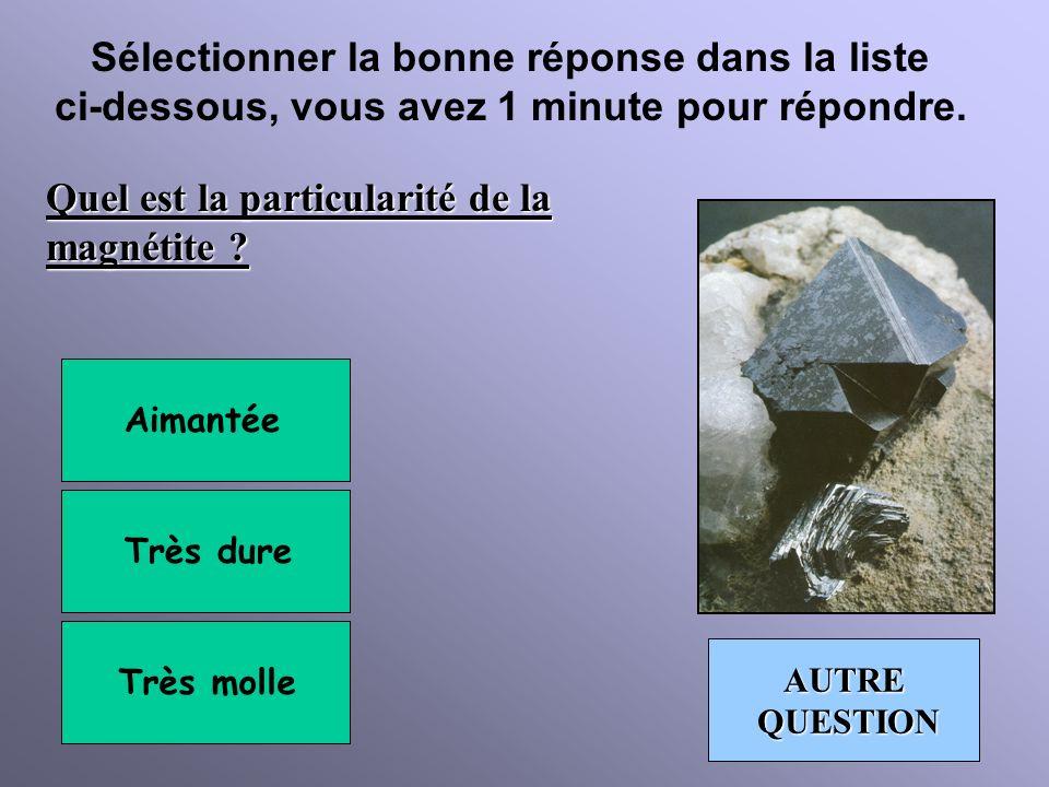 Sélectionner la bonne réponse dans la liste ci-dessous, vous avez 1 minute pour répondre. Cette pierre porte un synonyme dun prénom féminin, lequel ?