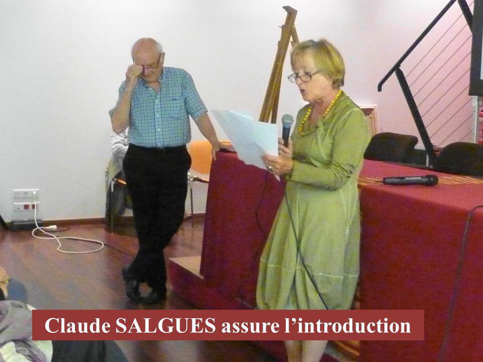 Claude SALGUES assure lintroduction