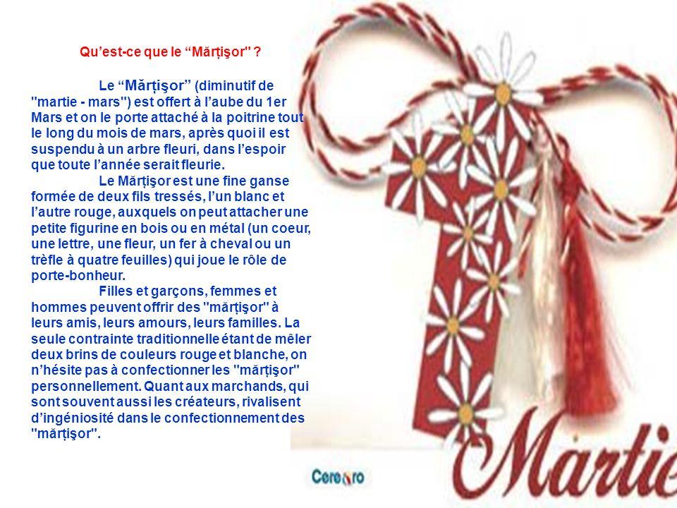 Légendes du Mărţişor ll y a plusieurs légendes concernant lorigine du marţişor.