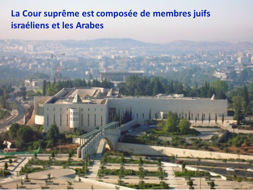 ISRAEL Le parlement est composé de membres de divers groupes ethniques, y compris les Arabes, les Druzes et les Juifs