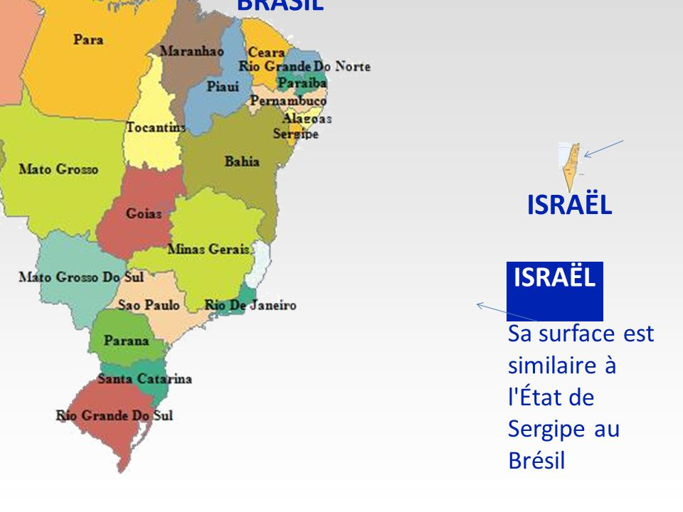 ISRAËL est localisé au Moyen Orient. ISRAËL
