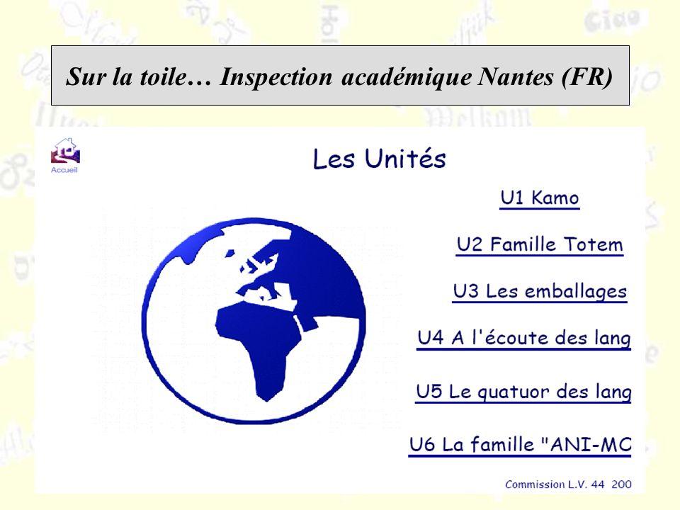 Sur la toile… Inspection académique Nantes (FR)
