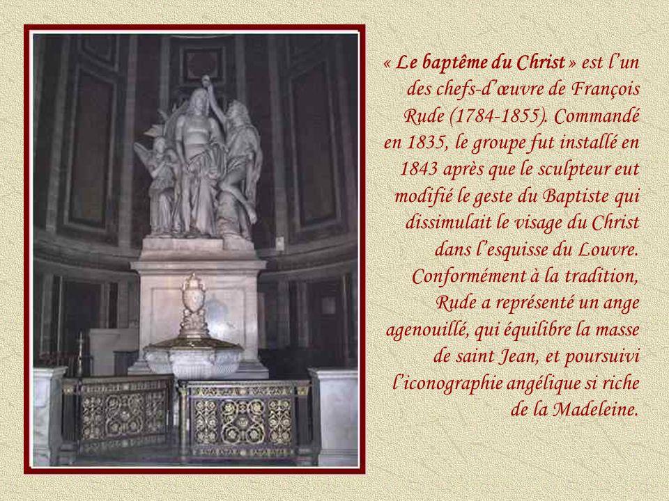« Sainte Marie-Madeleine en prière visitée par les anges » (1840) (Abel de Pujol ) 1785-1861.