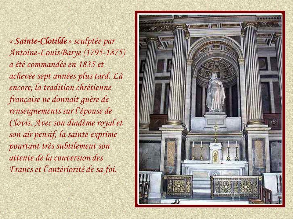 « Le baptême du Christ » est lun des chefs-dœuvre de François Rude (1784-1855).