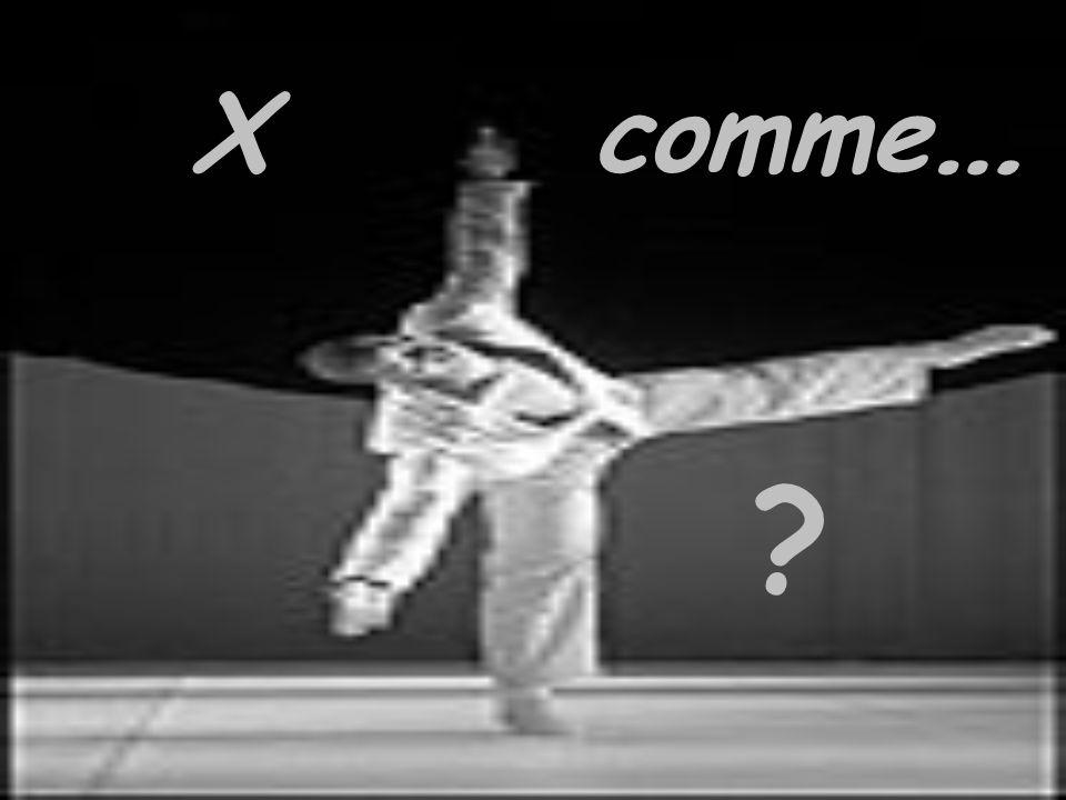 X comme … ?