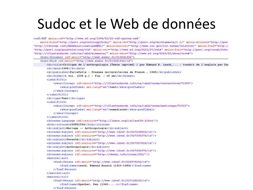 Sudoc et le Web de données