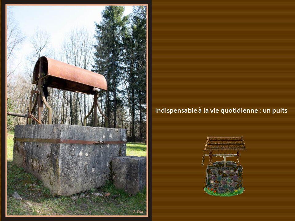 Indispensable à la vie quotidienne : un puits