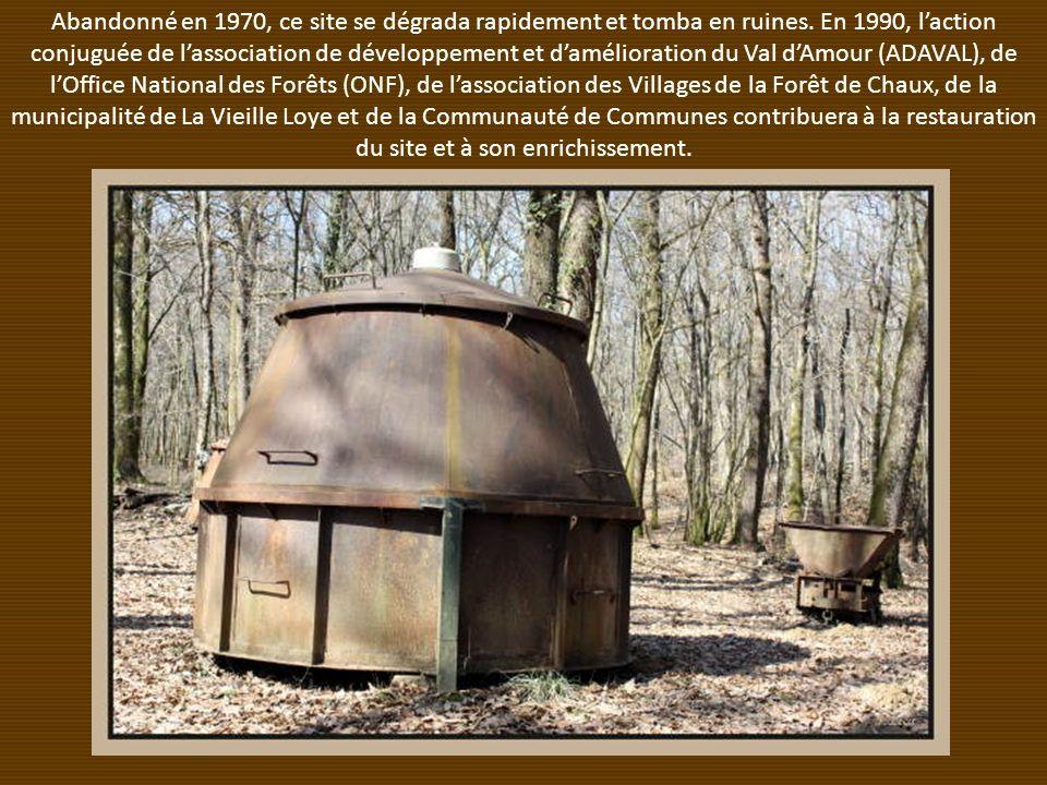 Abandonné en 1970, ce site se dégrada rapidement et tomba en ruines.