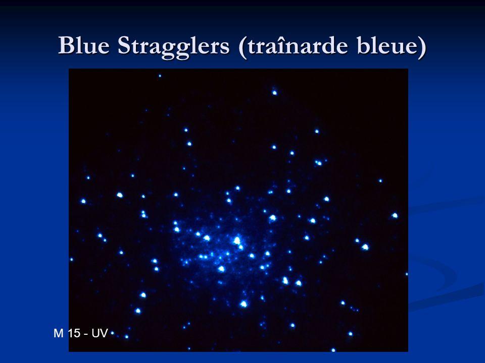 Blue Stragglers (traînarde bleue) M 15 - UV