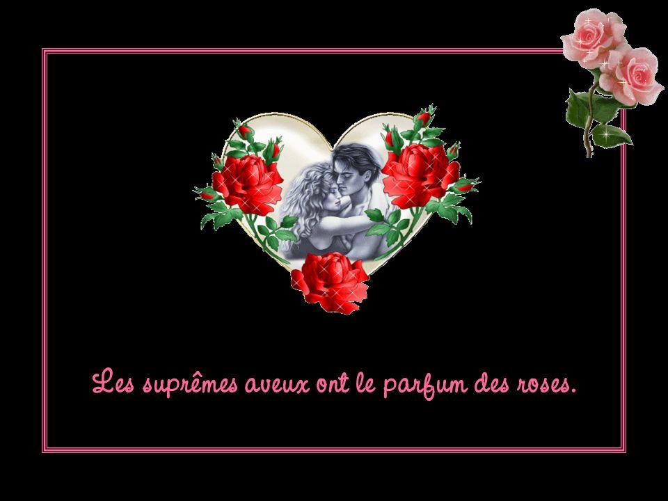 Ouvre tes jolis yeux : la rose va souvrir.