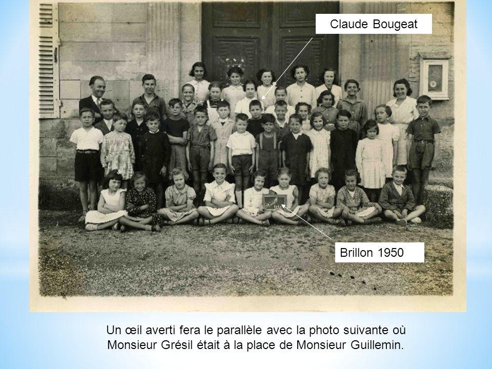 C Bougeat 1947 Lécole den bas