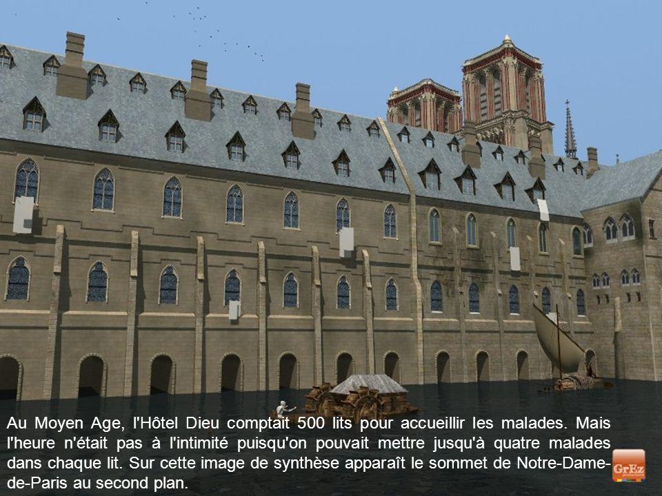 L'Hôtel Dieu a été le premier hôpital de Paris. Situé sur l'Ile de la Cité, il a été fondé en 651.