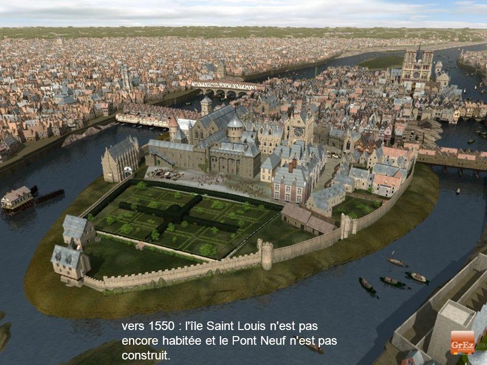 Le Louvre, l'Hôtel de Ville ou Notre-Dame présentaient des visages différents au Moyen Age. Voici des images de synthèse, signées Grez productions, qu