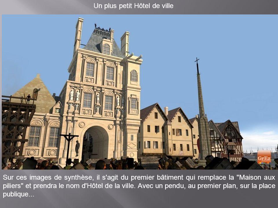 Au Moyen Age, l'Hôtel Dieu comptait 500 lits pour accueillir les malades. Mais l'heure n'était pas à l'intimité puisqu'on pouvait mettre jusqu'à quatr