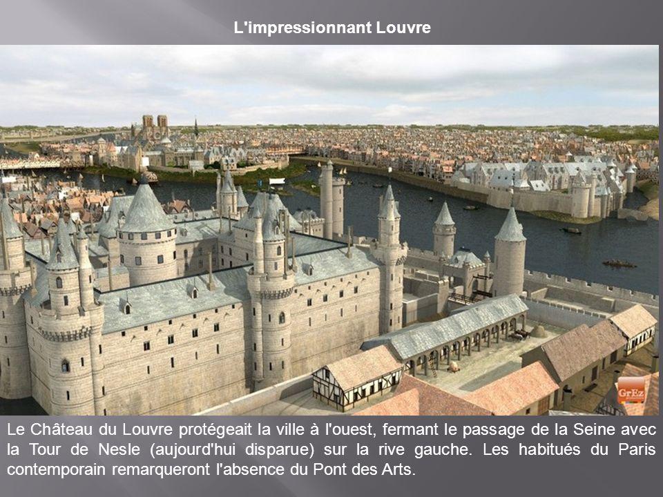Un plus petit Hôtel de ville Sur ces images de synthèse, il s'agit du premier bâtiment qui remplace la