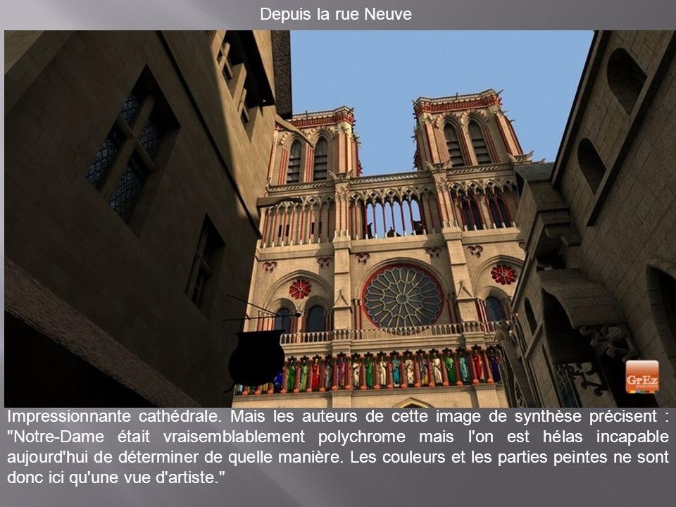 Plusieurs couleurs pour Notre-Dame de Paris