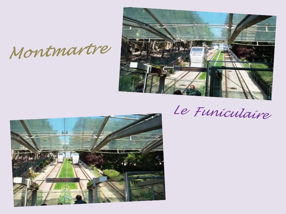 Funiculaire Montmartre en 2008 Station basse Station supérieur
