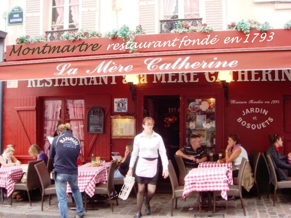 Montmartre garçon de café. en Poulbot