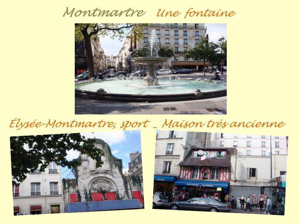 Montmartre métro, station Abbesses est la station de métro la plus profonde de Paris avec = moins 36 mètres Avant la restauration _ Apres la restaurat