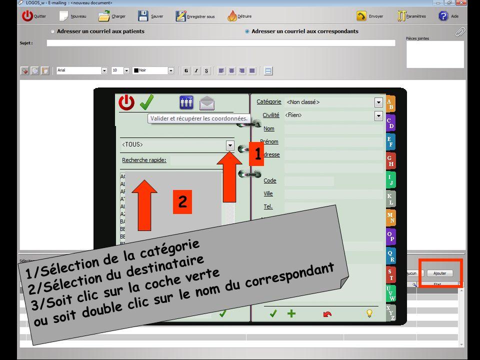 Licône Détruire pour supprimer un modèle de-mailing enregistré dans la base Un message de confirmation apparaîtra avant destruction