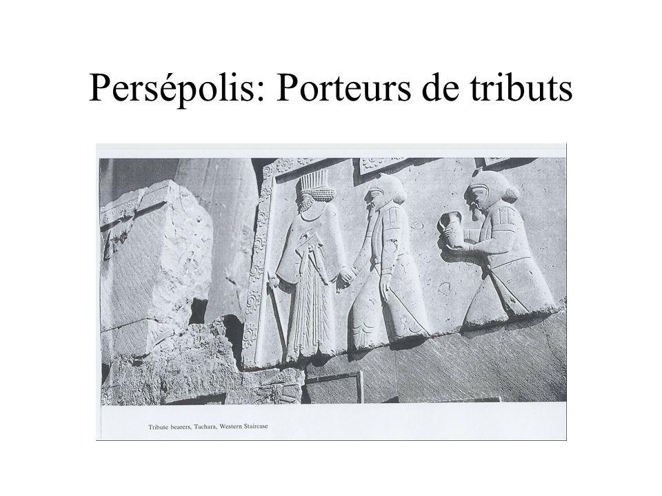 Persépolis: Porteurs de tributs
