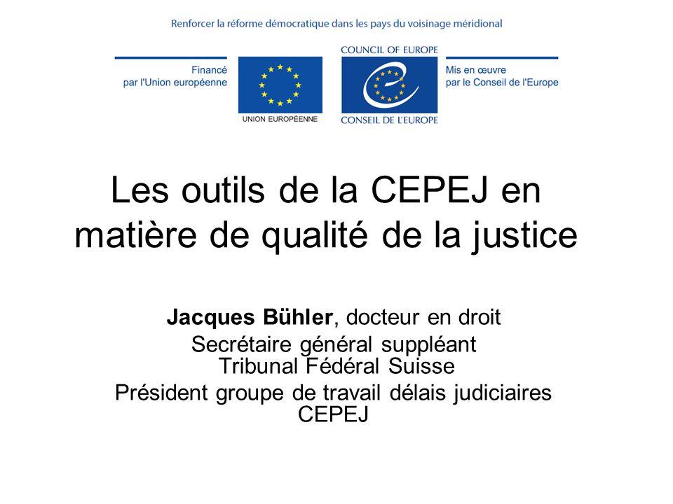 (c) CEPEJ - ISM Maroc 20132 Objectifs de la formation Présenter les outils qualité de la CEPEJ Exercer lutilisation de la check-list qualité