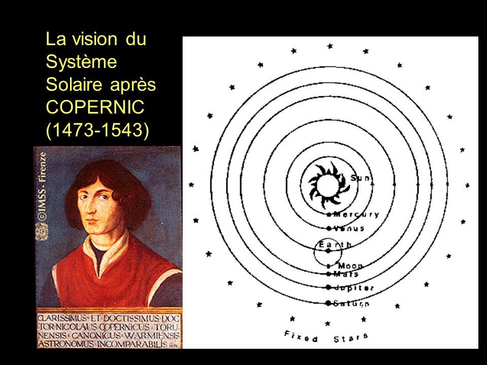 La vision du Système Solaire après COPERNIC (1473-1543)