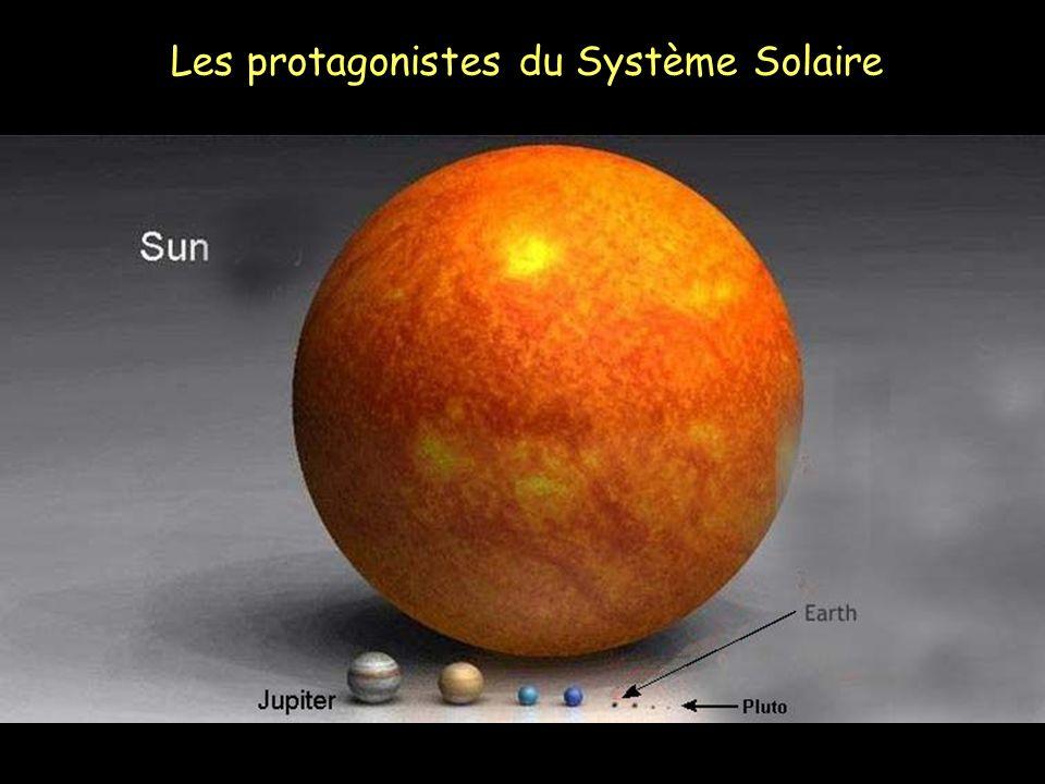 Les protagonistes du Système Solaire