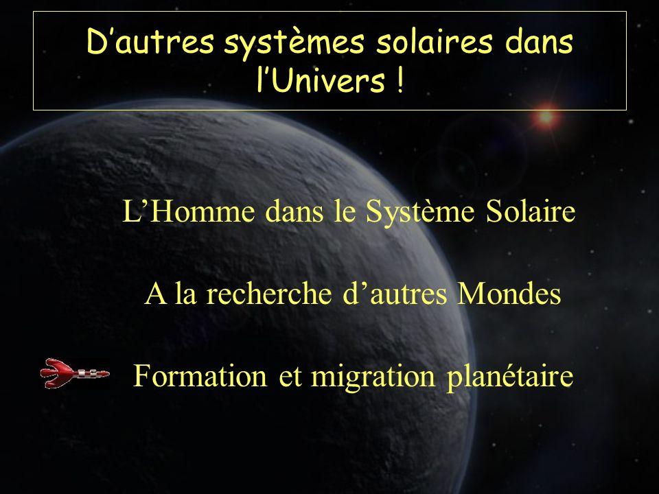 Dautres systèmes solaires dans lUnivers .