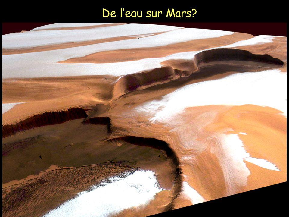 De leau sur Mars?