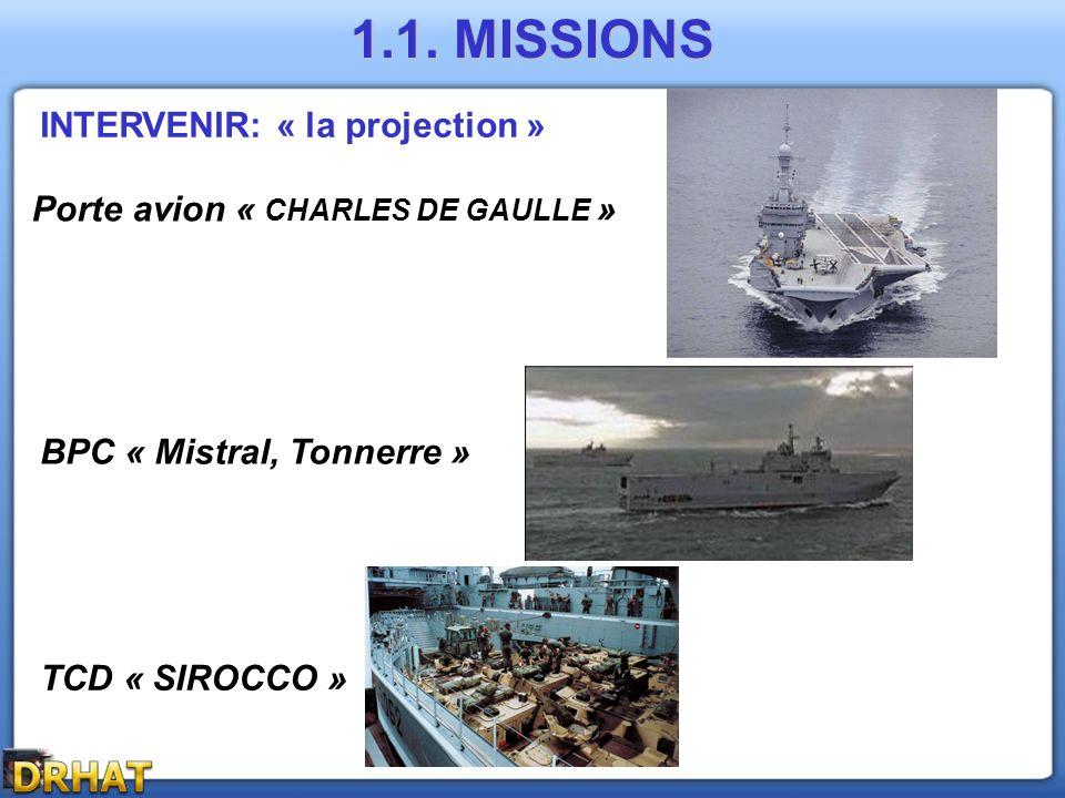 SAUVEGARDER : Protection des approches 1.1. MISSIONS Police des mers Assistance aux accidents