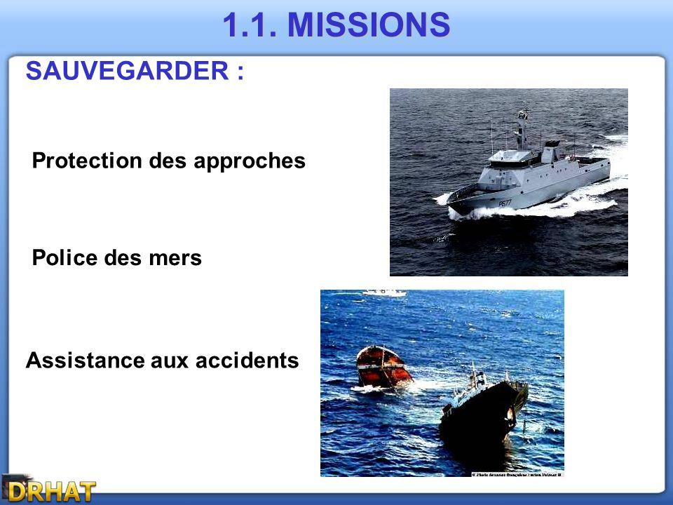 MISSION : Surveillance Générale 3.1. A GENDARMERIE DEPARTEMENTALE Mission de Défense :