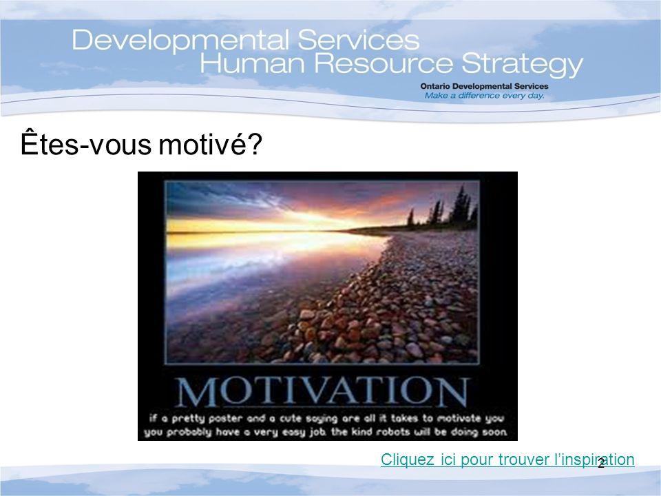 Êtes-vous motivé? Cliquez ici pour trouver linspiration 2