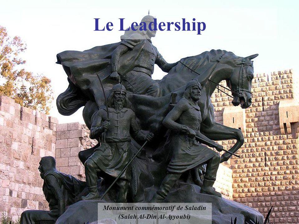 Le Leadership Monument commémoratif de Saladin (Salah Al-Din Al-Ayyoubi)