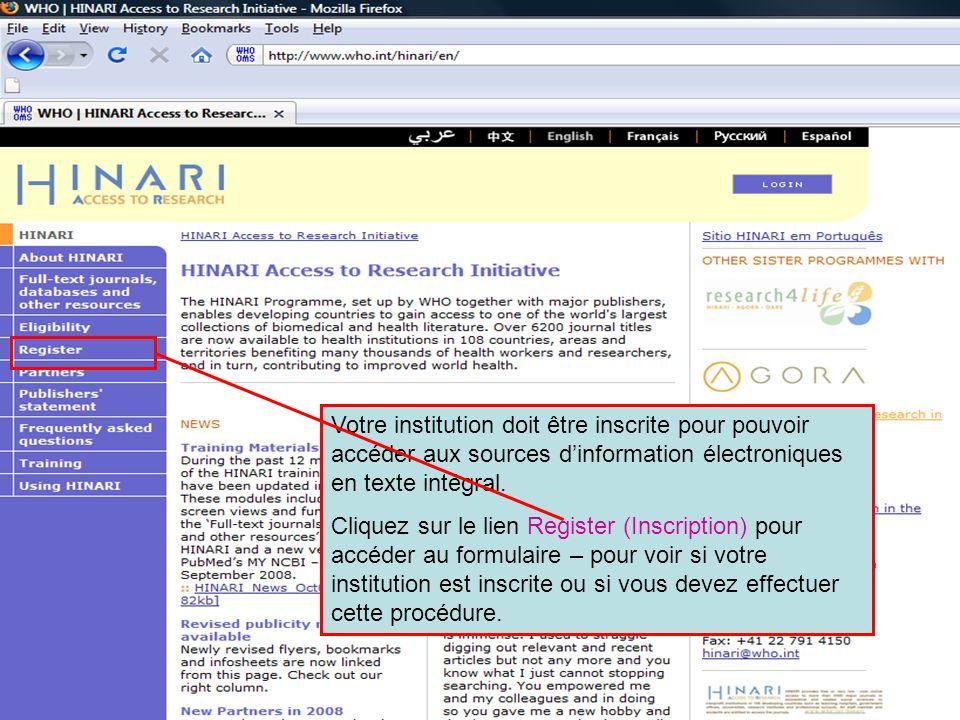 This is the end of Module 2 Voici la page daccueil du site web de BioMed Central, sur lequel vous pourrez accéder à des revues via une liste alphabétique de titres A-Z, par catégories de thèmes ou en utilisant un outil de recherche par mots-clés.