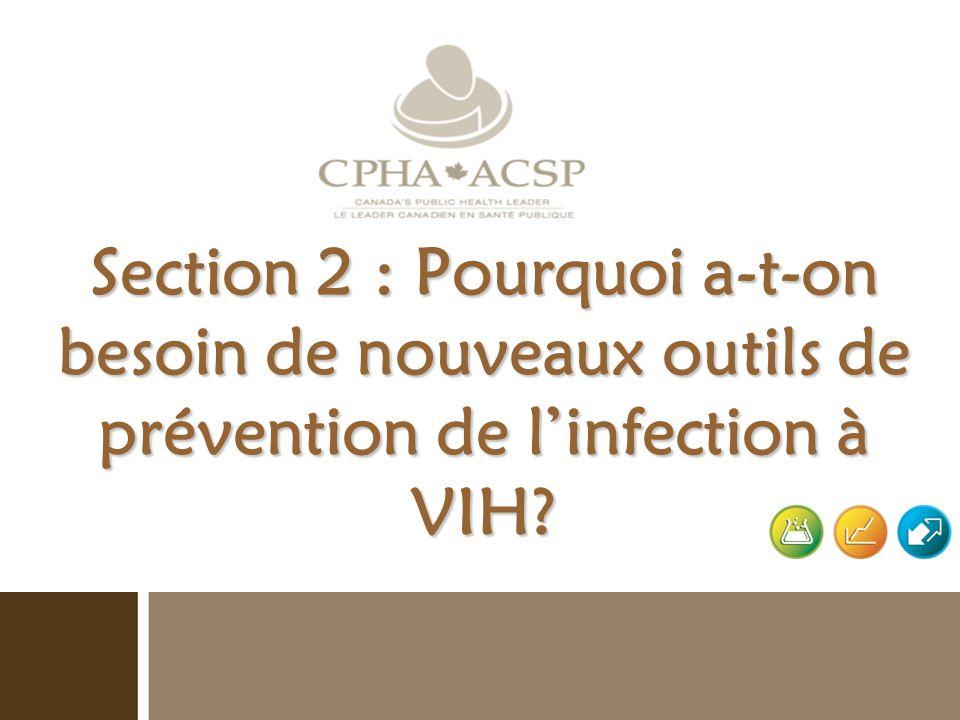 Section 4 : Les nouvelles techniques de prévention de linfection à VIH