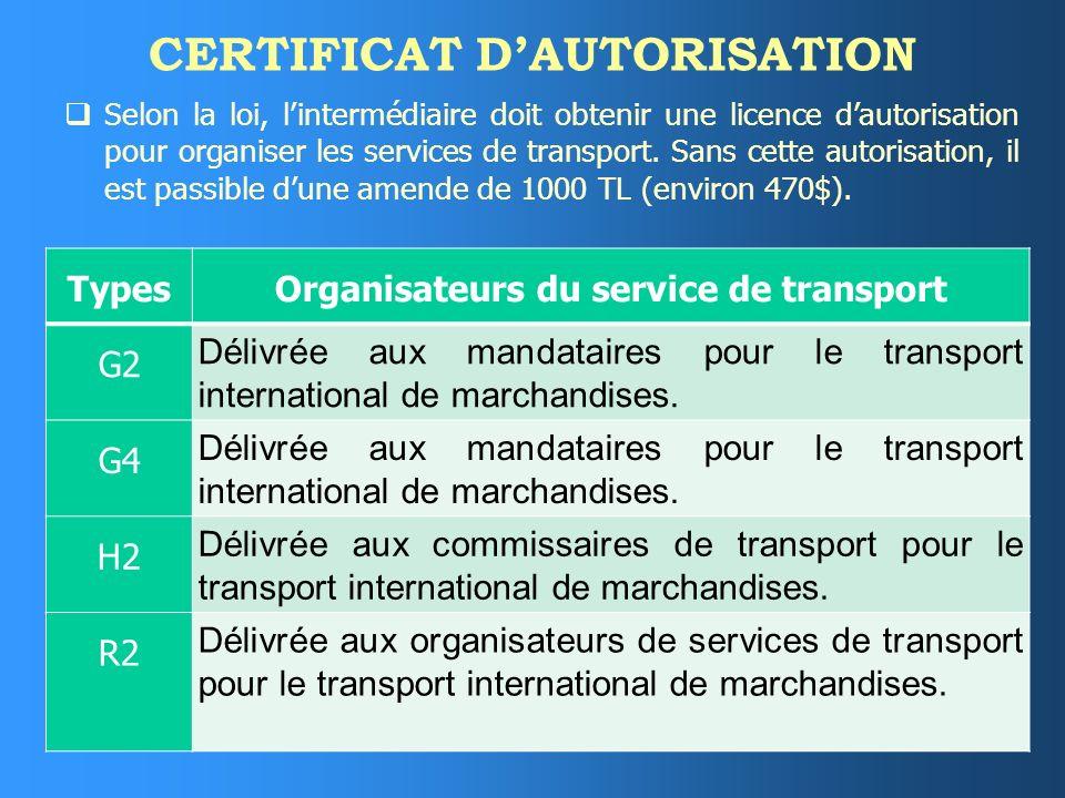 DROIT DE RECOURS Lintermédiaire a un droit de recours contre le transporteur ou le donneur dordre - selon la personne qui a formulé la demande - à moi