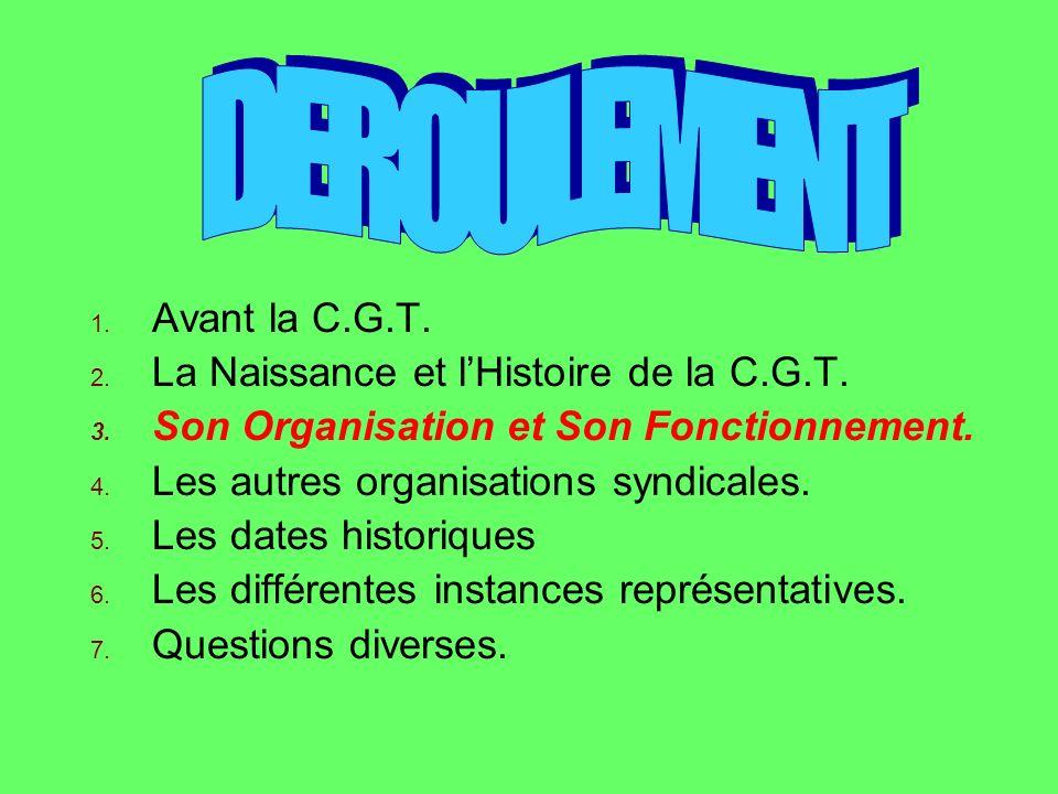 1909 Création de la «Vie Ouvrière».1910 LAge de la retraite est fixé à 65 ans.