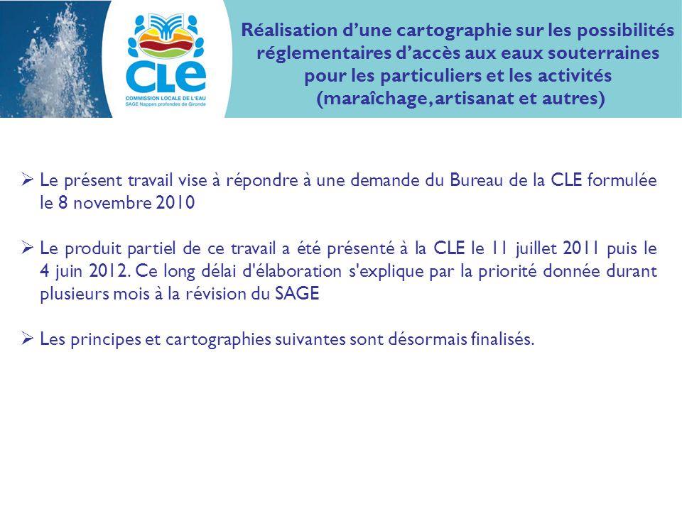Le présent travail vise à répondre à une demande du Bureau de la CLE formulée le 8 novembre 2010 Le produit partiel de ce travail a été présenté à la CLE le 11 juillet 2011 puis le 4 juin 2012.