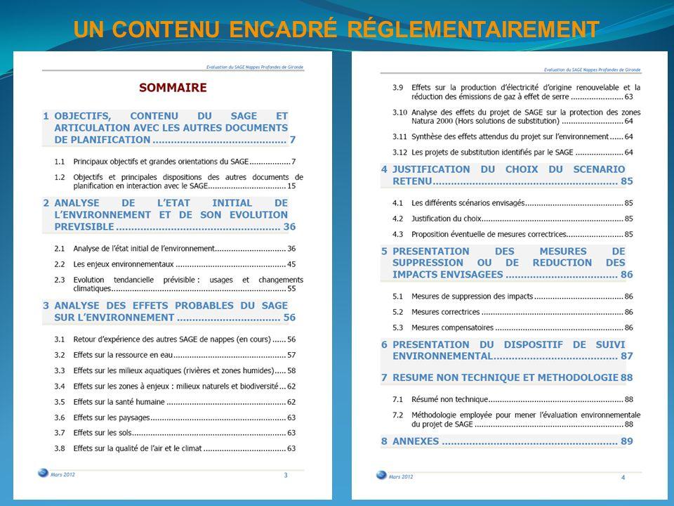 1.OBJECTIFS, CONTENU DU SAGE ET ARTICULATION AVEC LES AUTRES DOCUMENTS DE PLANIFICATION 2.