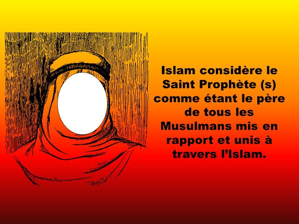 Toute la communauté Musulmane est comme une grande famille, et ce que fait un membre de cette famille affecte les autres membres de la famille.