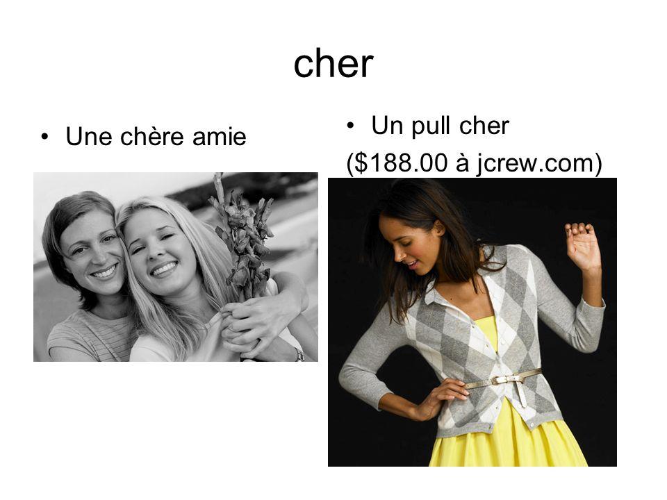 cher Une chère amie Un pull cher ($188.00 à jcrew.com)