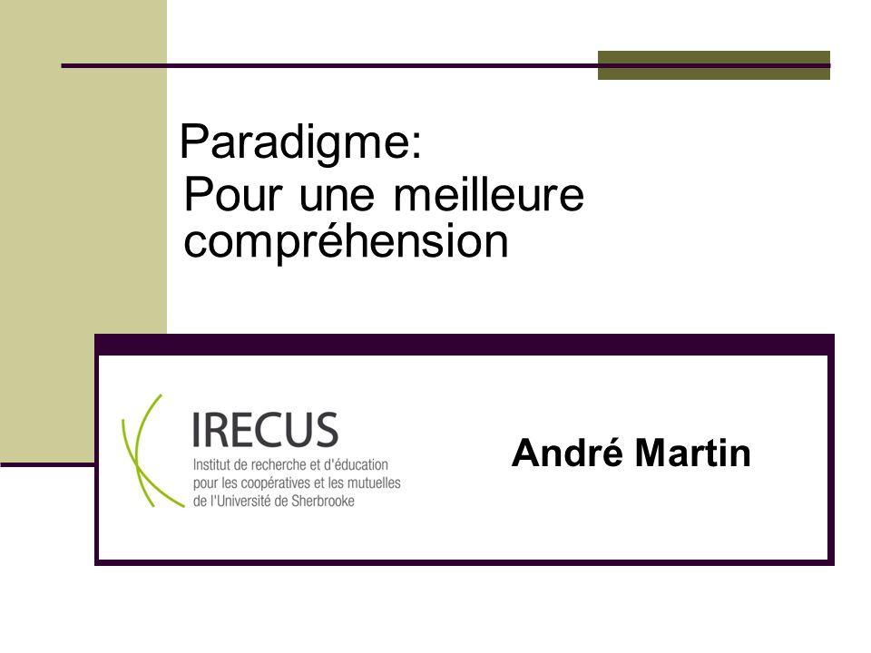 Paradigme: Pour une meilleure compréhension André Martin