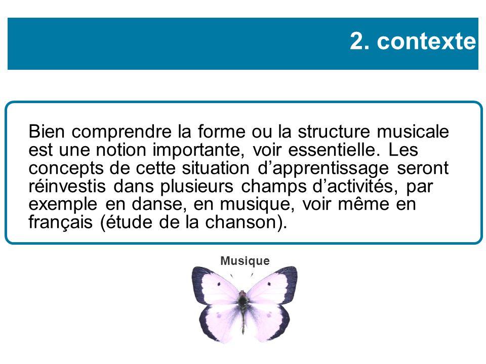 Bien comprendre la forme ou la structure musicale est une notion importante, voir essentielle.